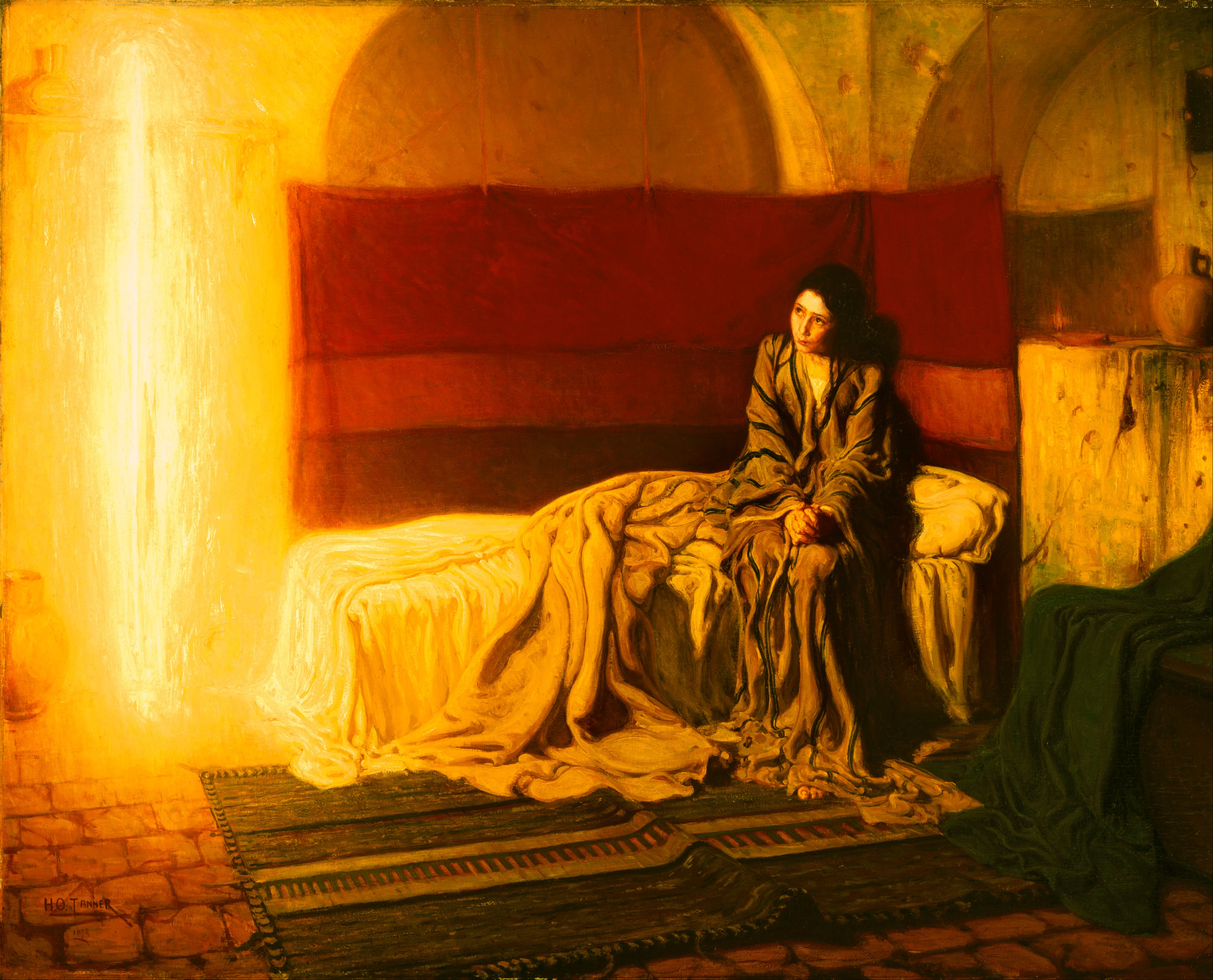 The Annunciation by Henry Tanner